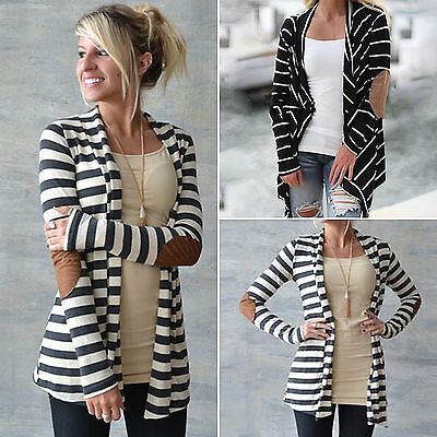 NEW Fashion Women Long Sleeve Sweater Top Casual Cardigan Outwear Coat Jacket GW
