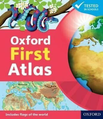 Oxford First Atlas 9780198487852 (Hardback, 2011)
