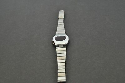 Vintage Compuchron Red LED Watch Case NEW OLD STOCK stainless steel Women's