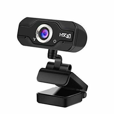 PC Webcam, EIVOTOR 720P HD USB Mini Web Camera with Built-in Microphone for Lapt