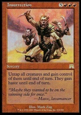 Insurrection ~ Onslaught ~ Excellent+ ~ Magic The Gathering