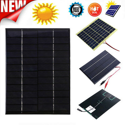 5/6/9/12/18V Mini Solar Panel Power Module For Battery Cell Phone Charger DIY