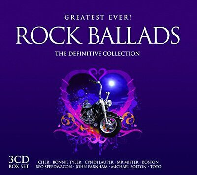 Various Artists - Greatest Ever Power Ballads - Various Artists CD MWVG The Fast