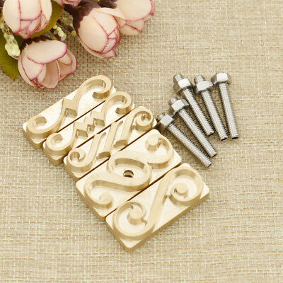 DIY Flower Leather Logo Carving Tools Seal Stamp Handmade Mould Embossing Craft