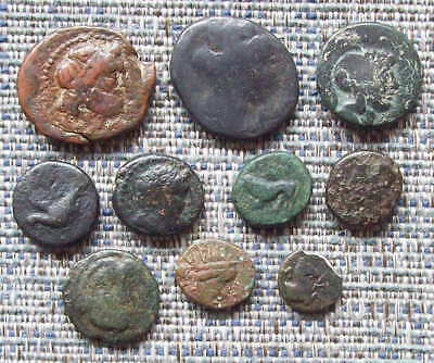 A small group of Greek bronzes, incl. Maroneia, Chios & Sikyon