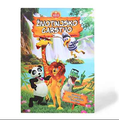 Empty Animal Kingdom/Životinjsko Carstvo Stickers Album Edition 2016. Kraš