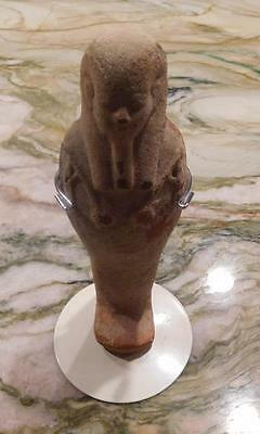 ANCIENT EGYPTIAN TALL USHABTI – Unique Detail (US122016A) *SPECIAL*