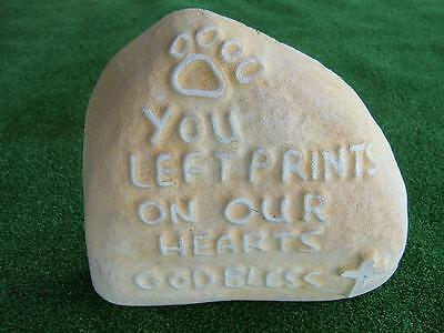 Cat Dog Memorial Mould - You Left Prints on Our Hearts
