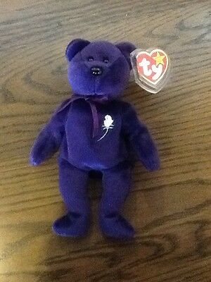 Rare Princess Diana TY Beanie Baby First Edition Original 1997 Tag Error