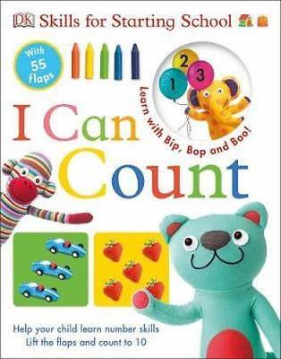 NEW I Can Count By  DK Board Book Free Shipping