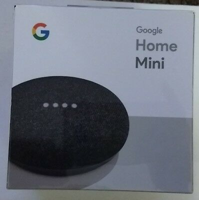 New Google Home Mini Smart Home Assistant Small Speaker - Charcoal