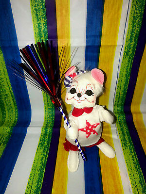 """Annalee Patriotic 4th Of July Girl Mouse 6"""" New 2018 250318 Tooth"""