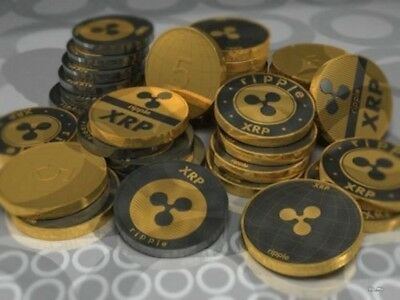 1x Ripple coin XRP CRYPTO Commemorative Ripple XRP Collectors Coin Gift