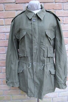 Size LARGE Vintage Dated 1952 KOREAN War Era US Army M-1951 Field Jacket, Good !