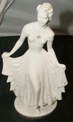 estate Art Deco Hutschenreuther THE FIRST BALL Figurine by Claire Weiss Mint