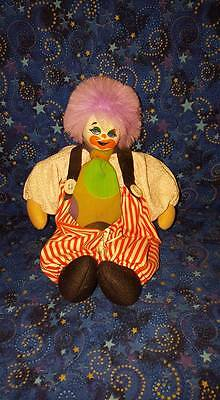 Artmark Decorative Clown Doll; Porcelain Head; Made in Thailand