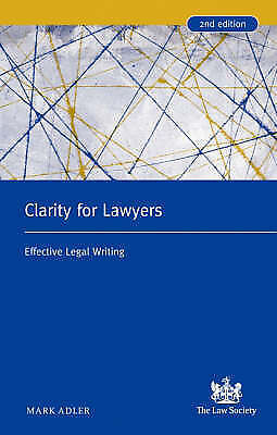Clarity for Lawyers: Effective Legal Writing-ExLibrary
