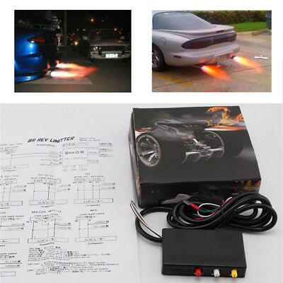 Car Modification Aircraft Exhaust Flame Thrower Kit Super Spitfire Dragon Racing