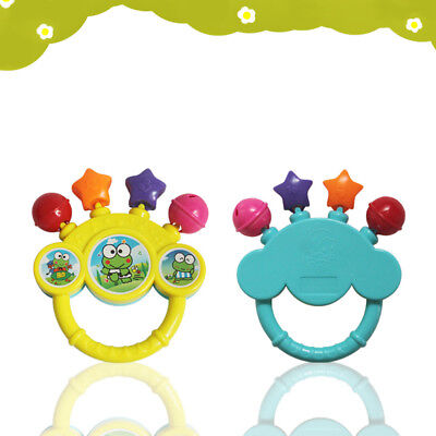Cartoon Infant Baby Bell Rattles Newborns Toys Hand Toy For Children Music Toy