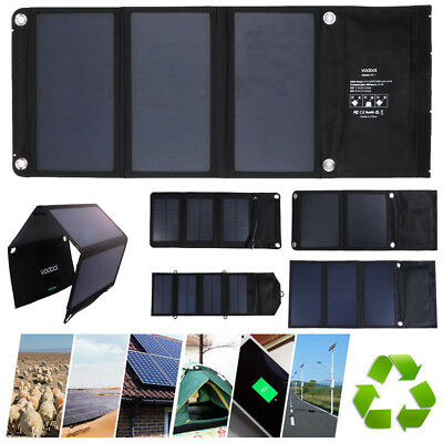 5/7W 5V USB Port Solar Panel Energy USB Battery Charger For iphone 8/8p/ Samsung