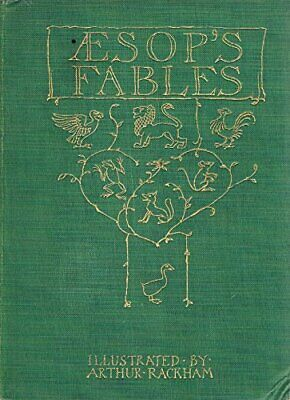 Aesop's Fables by Aesop Hardback Book The Cheap Fast Free Post
