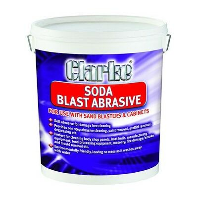 Clarke Grossier Grain Soda Sable Abrasif 22 kg 3052800