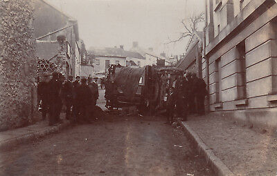 1906 used postcard ~ Danters Fair accident Prendergast Hill Haverfordwest