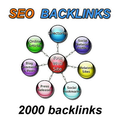 links SEO Backlinks creation 2000 links web positioning in Google
