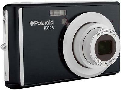 "Polaroid IE826-BLK 18.0 MP Digital Camera with 2.4"" Preview Screen - Black"