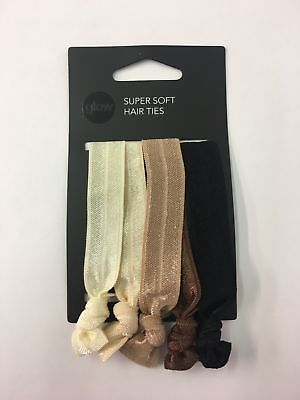 102 x Pack of 5  Hair ties bands pony tail holders soft elastic RRP £255