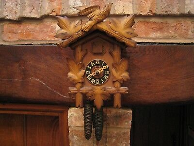 Hubert Herr vintage Black Forest cuckoo clock