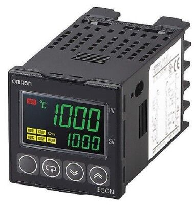 Omron E5CN PID Temperature Controller, 48 x 48 (1/16 DIN)mm, 2 Output Relay, 100