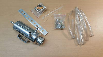 0.5 Litre Coolant Header Tank with fitting kit, Universal expansion tank