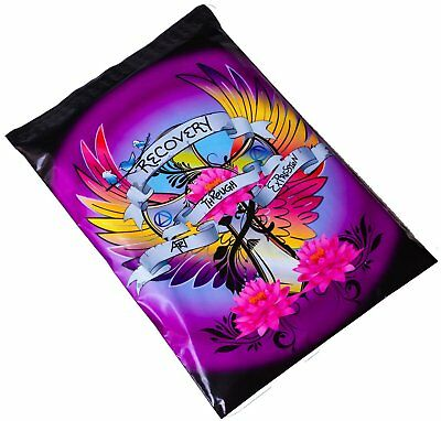 Tattoo Addiction Recovery Designer Poly Mailers Plastic Envelopes Shipping Bags