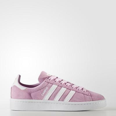 pretty nice f2648 1b87e Shoes Scarpe Ragazza Donna Adidas Originals Campus By9577 Rosa Pink