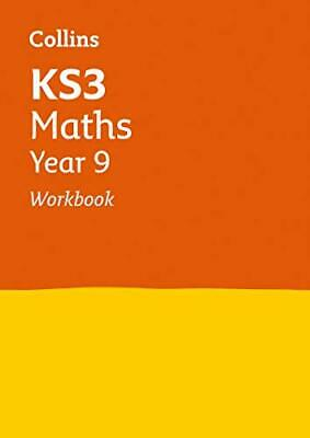 KS3 Maths Year 9 Workbook (Collins KS3 Revision) by Collins KS3 Book The Cheap