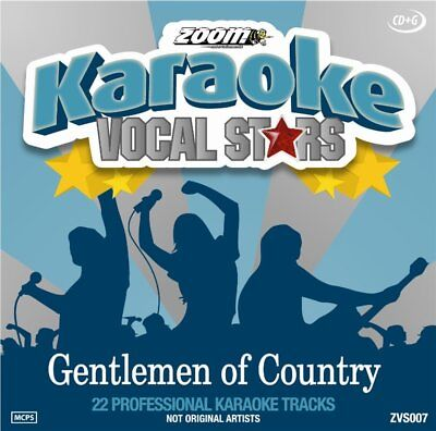 Zoom Karaoke Vocal Stars Series Volume 7 CD+G - Gentlemen Of Country