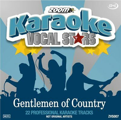 Zoom Karaoke Vocal Stars Series Volume 7 CD+G - Gentlemen Of Country Johnny Cash