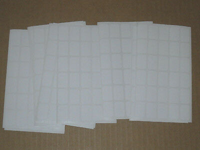510 Blank Garage Yard Sale Rummage Stickers Price Labels White C/ My Other Items