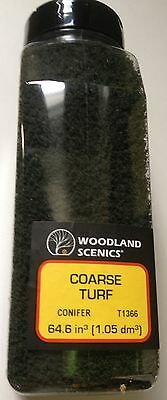 Woodland Scenics Coarse Turf Conifer # T1366 Factory Sealed