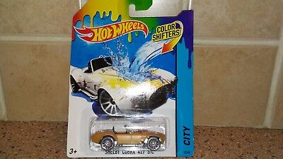 Hot Wheels 2014 Shelby Cobra 427 S/C Color Shifters Free Shipping