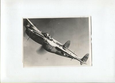 N°5096 /  photo argentique P-38 lighting US Army Air Force 1/31/45