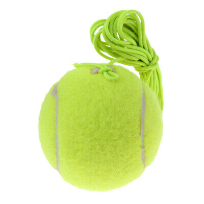 Mew Rubber Felt Tennis Ball Tennis Trainer Ball with String