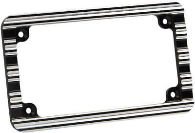 Arlen Ness 12-136 License Plate Frame Black | 2030-1050