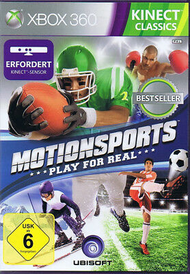Kinect Sports XBOX 360 Activ MotionSports Play for Real ( Kinect erforderlich )