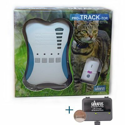Girafus® Pro-track-tor Pet Safety Tracker RF Technology Dog and Cat Tracker Very