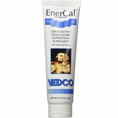EnerCal High Calorie Nutritional Pet Supplement For Cats & Dogs 5oz Tube
