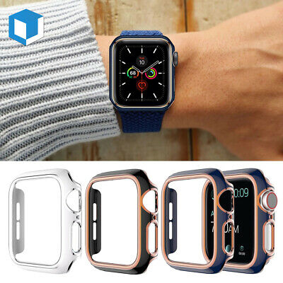 Fr Apple Watch Series 4 3/2/1 40/44 iWatch Case Cover Sports Gel Silicone Bumper
