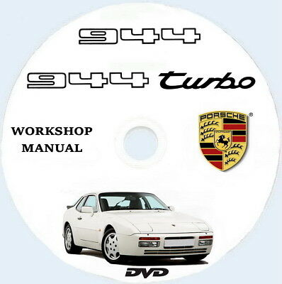 Porsche 944/944 S2 Cabriolet,workshop/Technical Manual,manuale officina ENG.