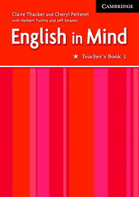 English in Mind 1 Teacher's Book by Claire Thacker (Paperback / softback)